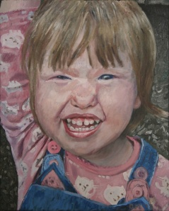 Danny Mooney 'Evie' Oil on linen 50 x 40 cm