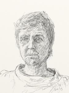 Danny Mooney 'Liz Allen 4.2.13' Digital drawing