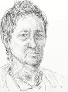 Danny Mooney 'Nicky 28.1.13 v2' Digital drawing