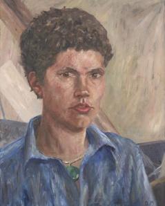 Danny Mooney 'Biff' Oil on linen 50 x 40 cm