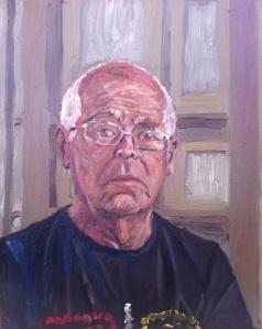 Danny Mooney 'Harry' Oil on linen 50 x 40 cm