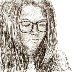 Danny Mooney 'Izzy 2' Digital drawing
