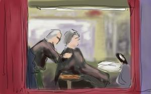 Danny Mooney 'Barber's' Digital drawing