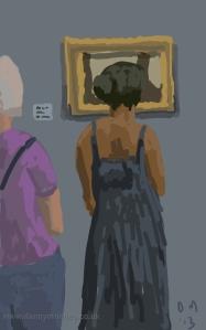Danny Mooney 'Looking at Lowry' Digital painting