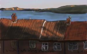 Danny Mooney 'South East along the coast' Digital drawing