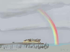 Danny Mooney 'Rainbow' 30/1/2014 Digital painting