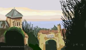 Danny Mooney 'Upper Maze Hill' 18/1/2014 Digital Painting