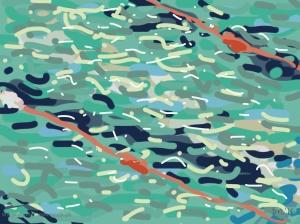 Danny Mooney 'Pool 26/3/2014' Digital painting