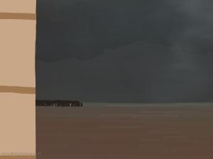 Danny Mooney 'Wine dark sea, 29/2015' iPad painting #APAD