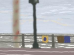 Danny Mooney 'From Kassa, 10/12/2015' iPad painting #APAD